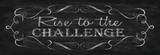 Rise to the Challenge Posters by N. Harbick