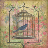 La Boheme Bird I Prints by Kate McRostie