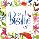 Atmen Poster von Anne Tavoletti