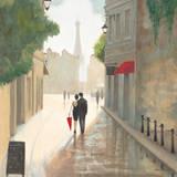 Paris Romance I Affiches par Marco Fabiano