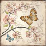 Le Jardin Butterfly II Posters by Kate McRostie