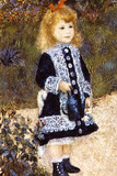 Pierre Auguste Renoir Girl with the Watering Can Print
