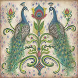 Feathered Splendor II Print by Kate McRostie