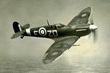 Supermarine Spitfire Mk V Chicago 1942 Poster Photo