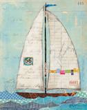 At the Regatta IV Print by Courtney Prahl