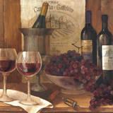 Vintage Wine Crop Posters by Albena Hristova