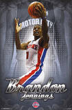 Brandon Jennings Detroit Pistons Prints