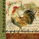 Viva Italia Roosters IV Prints by Pamela Gladding