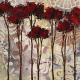 Whispering Trees I Print by Megan Aroon Duncanson