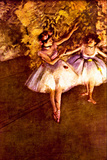 Edgar Degas Young Dancers Poster Posters