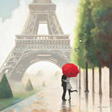 Paris Romance II Posters af Marco Fabiano