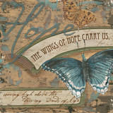 Wings of Hope I Plakater af Debbie DeWitt