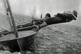 Sailing in Chichester Harbor England 1957 Archival Photo Poster Photo