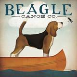 Beagle Canoe Co. Art par Ryan Fowler