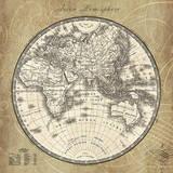 French World Map II Plakater av Sue Schlabach