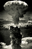 Atomic Bomb Mushroom Cloud Poster Photo