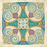 Birds Garden Tile I Posters by Daphne Brissonnet
