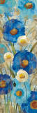 Sunkissed Blue and White Flowers II Posters by Silvia Vassileva