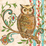 Treetop Owl I Prints by Kate McRostie