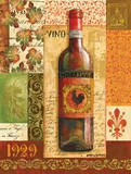 Old World Wine I Poster por Gregory Gorham