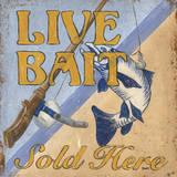 Live Bait Posters by Debbie DeWitt