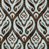 Blue Ikat II Wall Art by Paul Brent