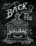 Back to the Grind No Border Print by Mary Urban