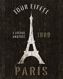 Refurbished Eiffel Tower Posters by Hugo Wild
