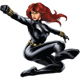 Black Widow - Avengers Assemble Wall Jammer Wall Decal Wall Decal
