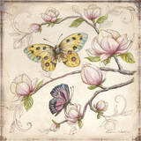 Le Jardin Butterfly IV Poster by Kate McRostie