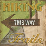Hiking Trails Posters af Debbie DeWitt