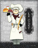 Le Chef Print by Sydney Wright
