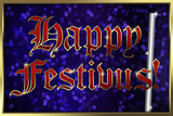 Happy Festivus Holiday Poster