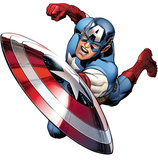 Captain America - Avengers Assemble Wall Jammer Wall Decal Wall Decal