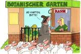 Botanischer Garten Poster by Uli Stein