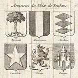 Restoration Period French Armory I Posters by Wild Apple Portfolio