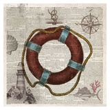 Nautical Collection IV - Mini Poster by Drako Fontaine