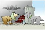 Hund - Schwerhoerigkeit Besser Prints by Uli Stein