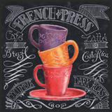 Chalkboard Coffee II Print by Paul Brent