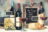 Les Fromages Poster by Marilyn Hageman
