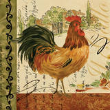 Viva Italia Roosters III Posters by Pamela Gladding
