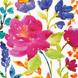 Floral Medley II Print by Wild Apple Portfolio