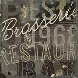 Restaurant Sign I Affiches par Michael Mullan