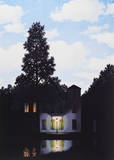 L'Empire des Lumieres Poster by Rene Magritte