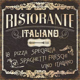 Italian Cuisine I Print by  Pela