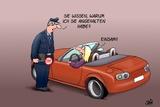 Einsamer Polizist Prints by Uli Stein