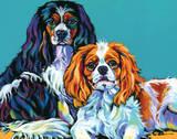 Bella & Bentley Prints by Sally Evans