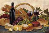 Tuscan Evening Wine Crop Posters av Silvia Vassileva