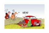 Golfball: Nein! Print by Uli Stein