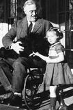Franklin Delanor Roosevelt (In Wheelchair) Photo
